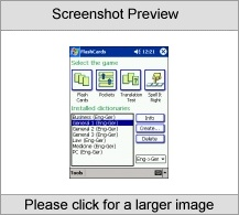 LingvoSoft FlashCards English  German for Pocke utility